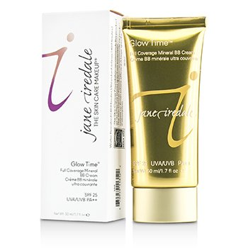 JANE IREDALE GLOW TIME FULL COVERAGE MINERAL BB CREAM SPF 25 - BB6  50ML/1.7OZ