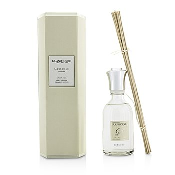 GLASSHOUSE TRIPLE STRENGTH FRAGRANCE DIFFUSER - MARSEILLE (GARDENIA)  250ML/8.45OZ