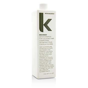 KEVIN.MURPHY MAXI.WASH (DETOX SHAMPOO - FOR COLOURED HAIR)  1000ML/33.6OZ