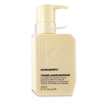 KEVIN.MURPHY YOUNG.AGAIN.MASQUE (IMMORTELLE AND BAOBAB INFUSED RESTORATIVE SOFTENING MASQUE - TO DRY DAMAGED OR BRITTLE HAIR)  200ML/6.7OZ