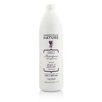 ALFAPARF PRECIOUS NATURE TODAY'S SPECIAL SHAMPOO (FOR CURLY & WAVY HAIR)  1000ML/33.81OZ