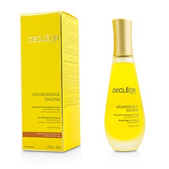 DECLEOR AROMESSENCE ENCENS NOURISHING RICH BODY OIL  100ML/3.3OZ