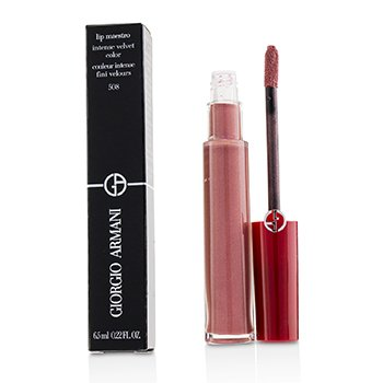 GIORGIO ARMANI LIP MAESTRO LIP GLOSS - # 508 (PEARLY NUDE)  6.5ML/0.22OZ
