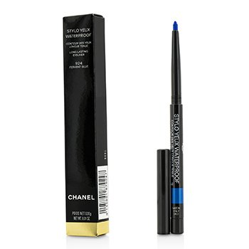CHANEL STYLO YEUX WATERPROOF - # 924 FERVENT BLUE  0.3G/0.01OZ