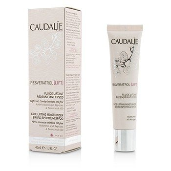 CAUDALIE RESVERATROL LIFT FACE LIFTING MOISTURIZER BROAD SPECTRUM SPF 20  40ML/1.3OZ
