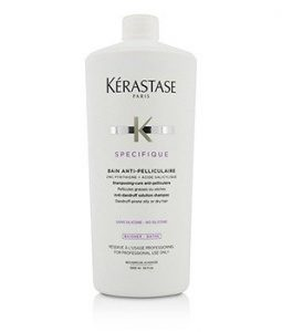 KERASTASE SPECIFIQUE BAIN ANTI-PELLICULAIRE ANTI-DANDRUFF SOLUTION SHAMPOO (DANDRUFF-PRONE OILY OR DRY HAIR)  1000ML/34OZ