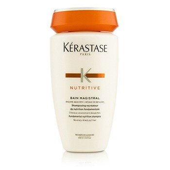 KERASTASE NUTRITIVE BAIN MAGISTRAL FUNDAMENTAL NUTRITION SHAMPOO (SEVERELY DRIED-OUT HAIR)  250ML/8.5OZ