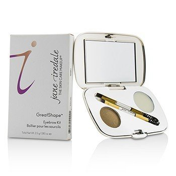 JANE IREDALE GREATSHAPE EYEBROW KIT (1X BROW POWDER, 1X BROW WAX, 1X APPLICATOR) - BLONDE  2.5G/0.85OZ