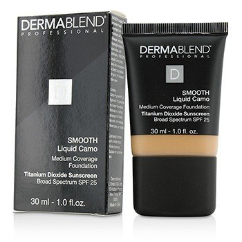 DERMABLEND SMOOTH LIQUID CAMO FOUNDATION SPF 25 (MEDIUM COVERAGE) - HONEY BEIGE (50C)  30ML/1OZ