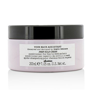 DAVINES YOUR HAIR ASSISTANT PREP MILD CREAM CONDITIONER (FOR FINE TO MEDIUM HAIR)  200ML/7.05OZ