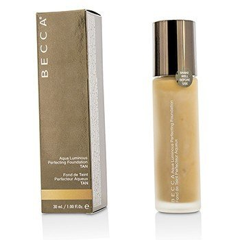 BECCA AQUA LUMINOUS PERFECTING FOUNDATION - TAN  30ML/1OZ