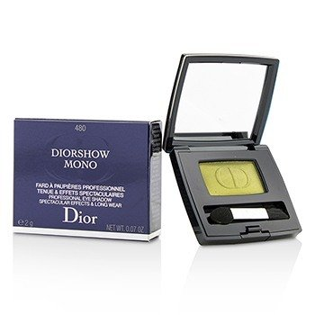 CHRISTIAN DIOR DIORSHOW MONO PROFESSIONAL SPECTACULAR EFFECTS & LONG WEAR EYESHADOW - # 480 NATURE  2G/0.07OZ