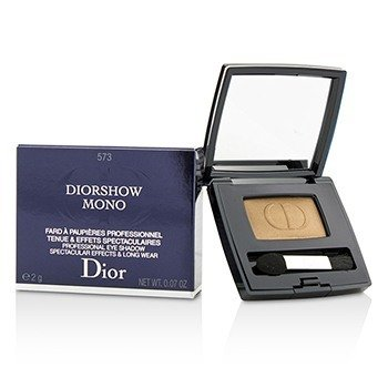 CHRISTIAN DIOR DIORSHOW MONO PROFESSIONAL SPECTACULAR EFFECTS & LONG WEAR EYESHADOW - # 573 MINERAL  2G/0.07OZ