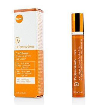 DR DENNIS GROSS C + COLLAGEN BRIGHTEN & FIRM EYE CREAM  15ML/0.5OZ
