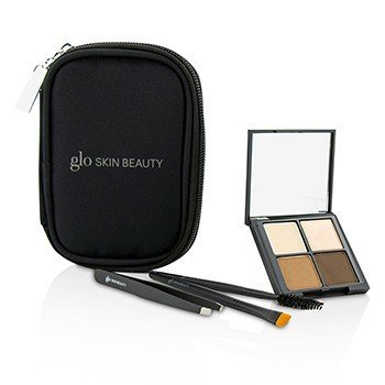 GLO SKIN BEAUTY BROW COLLECTION - # BROWN  -