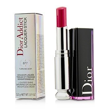 CHRISTIAN DIOR DIOR ADDICT LACQUER STICK - # 877 TURN ME DIOR  3.2G/0.11OZ