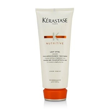 KERASTASE NUTRITIVE LAIT VITAL INCREDIBLY LIGHT - EXCEPTIONAL NUTRITION CARE (FOR NORMAL TO SLIGHTLY DRY HAIR)  200ML/6.8OZ
