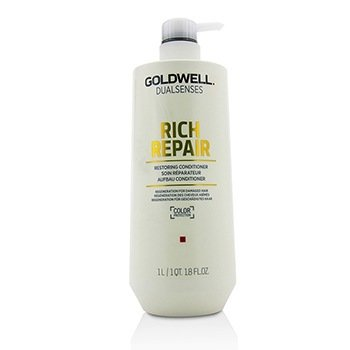 GOLDWELL DUAL SENSES RICH REPAIR RESTORING CONDITIONER (REGENERATION FOR DAMAGED HAIR)  1000ML/33.8OZ