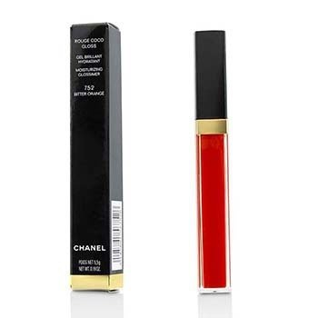 CHANEL ROUGE COCO GLOSS MOISTURIZING GLOSSIMER - # 752 BITTER ORANGE  5.5G/0.19OZ