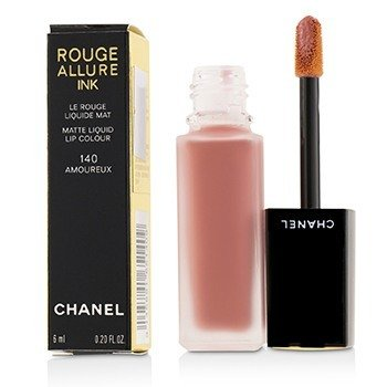 CHANEL ROUGE ALLURE INK MATTE LIQUID LIP COLOUR - # 140 AMOUREUX  6ML/0.2OZ