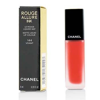 CHANEL ROUGE ALLURE INK MATTE LIQUID LIP COLOUR - # 144 VIVANT  6ML/0.2OZ