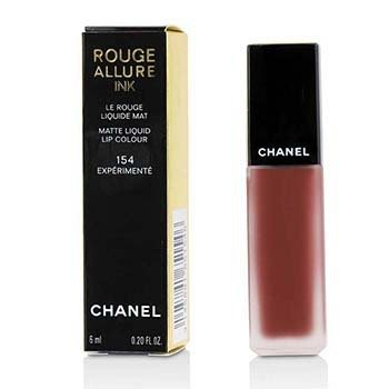 CHANEL ROUGE ALLURE INK MATTE LIQUID LIP COLOUR - # 154 EXPERIMENTE  6ML/0.2OZ
