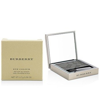 BURBERRY EYE COLOUR WET & DRY SILK SHADOW - # NO. 308 JET BLACK  2.7G/0.09OZ