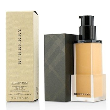BURBERRY BURBERRY CASHMERE FLAWLESS SOFT MATTE FOUNDATION SPF 20 - # NO. 34 WARM NUDE  30ML/1OZ