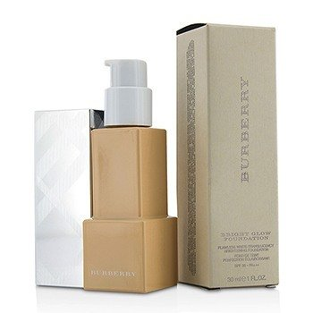 BURBERRY BRIGHT GLOW FLAWLESS WHITE TRANSLUCENCY BRIGHTENING FOUNDATION SPF 30 - # NO. 32 HONEY  30ML/1OZ