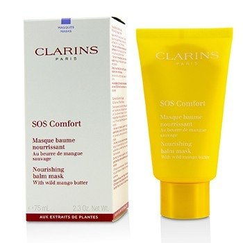 CLARINS SOS COMFORT NOURISHING BALM MASK WITH WILD MANGO BUTTER - FOR DRY SKIN  75ML/2.3OZ