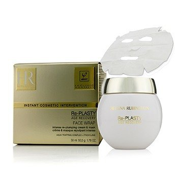 HELENA RUBINSTEIN RE-PLASTY AGE RECOVERY FACE WRAP INTENSE RE-PLUMPING CREAM & MASK  50ML/1.78OZ