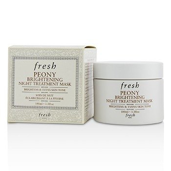 FRESH PEONY BRIGHTENING NIGHT TREATMENT MASK  100ML/3.3OZ
