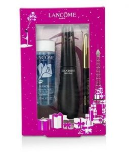 LANCOME GRANDIOSE EXTREME EYES SET: 1X GRANDIOSE EXTREME MASCARA + 1X MINI LE CRAYON KHOL + 1X BI FACIL  3PCS