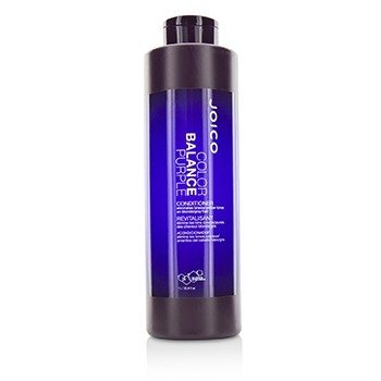 JOICO COLOR BALANCE PURPLE CONDITIONER (ELIMINATES BRASSY/YELLOW TONES ON BLONDE/GRAY HAIR)  1000ML/33.8OZ