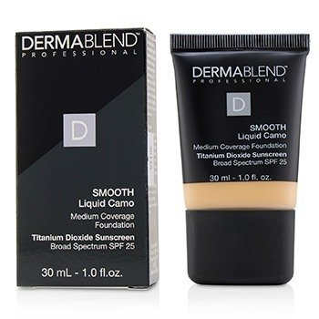 DERMABLEND SMOOTH LIQUID CAMO FOUNDATION SPF 25 (MEDIUM COVERAGE) - LINEN (0C)  30ML/1OZ