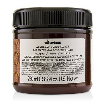 DAVINES ALCHEMIC CONDITIONER - # COPPER (FOR NATURAL & COLOURED HAIR)  250ML/8.84OZ