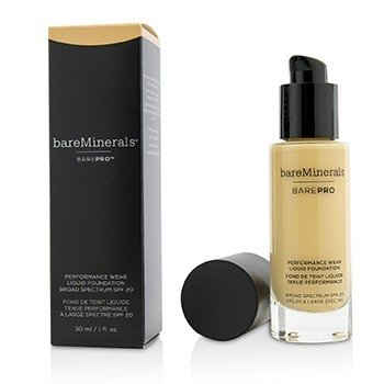 BAREMINERALS BAREPRO PERFORMANCE WEAR LIQUID FOUNDATION SPF20 - # 04 ASPEN  30ML/1OZ