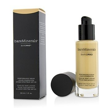 BAREMINERALS BAREPRO PERFORMANCE WEAR LIQUID FOUNDATION SPF20 - # 07 WARM LIGHT  30ML/1OZ