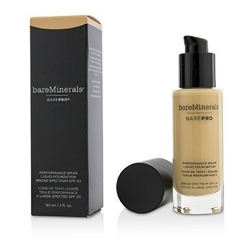 BAREMINERALS BAREPRO PERFORMANCE WEAR LIQUID FOUNDATION SPF20 - # 10 COOL BEIGE  30ML/1OZ