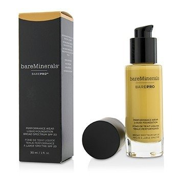 BAREMINERALS BAREPRO PERFORMANCE WEAR LIQUID FOUNDATION SPF20 - # 17 CAMEL  30ML/1OZ