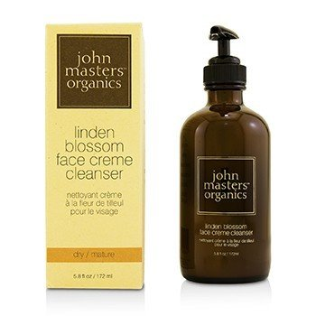 JOHN MASTERS ORGANICS LINDEN BLOSSOM FACE CREME CLEANSER (FOR DRY/ MATURE SKIN)  172ML/5.8OZ