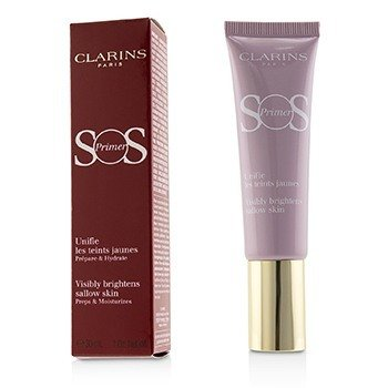 CLARINS SOS PRIMER - # 05 LAVENDER (VISIBLY BRIGHTENS SALLOW SKIN)  30ML/1OZ