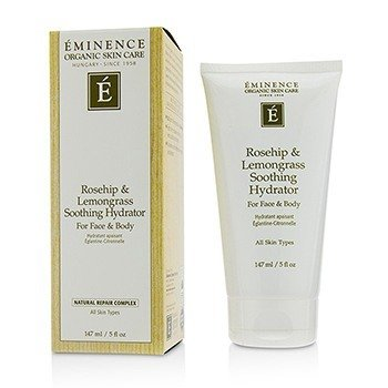 EMINENCE ROSEHIP & LEMONGRASS SOOTHING HYDRATOR FOR FACE & BODY  147ML/5OZ
