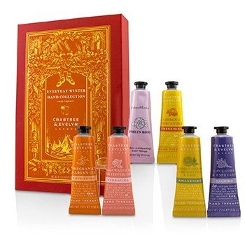 CRABTREE & EVELYN EVERYDAY WINTER HAND COLLECTION  6X25ML/0.86OZ