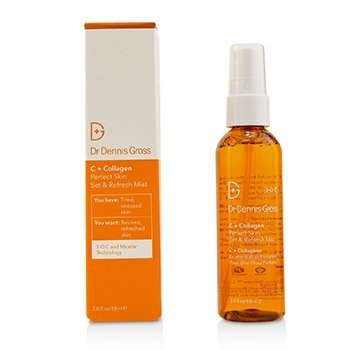 DR DENNIS GROSS C + COLLAGEN PERFECT SKIN SET & REFRESH MIST  88ML/3OZ