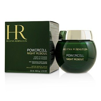 HELENA RUBINSTEIN POWERCELL NIGHT RESCUE CREAM-IN-MOUSSE  50ML/1.74OZ
