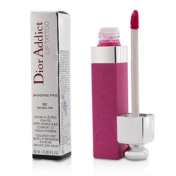 CHRISTIAN DIOR DIOR ADDICT LIP TATTOO - # 881 NATURAL PINK  6ML/0.2OZ