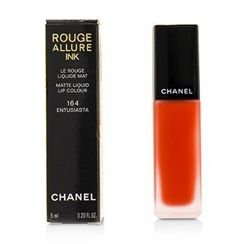 CHANEL ROUGE ALLURE INK MATTE LIQUID LIP COLOUR - # 164 ENTUSIASTA  6ML/0.2OZ