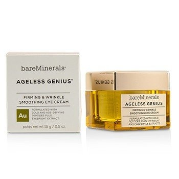 BAREMINERALS AGELESS GENIUS FIRMING & WRINKLE SMOOTHING EYE CREAM  15G/0.5OZ