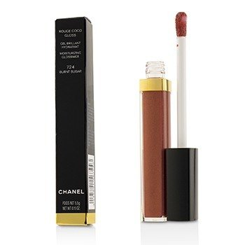 CHANEL ROUGE COCO GLOSS MOISTURIZING GLOSSIMER - # 724 BURNT SUGAR  5.5G/0.19OZ